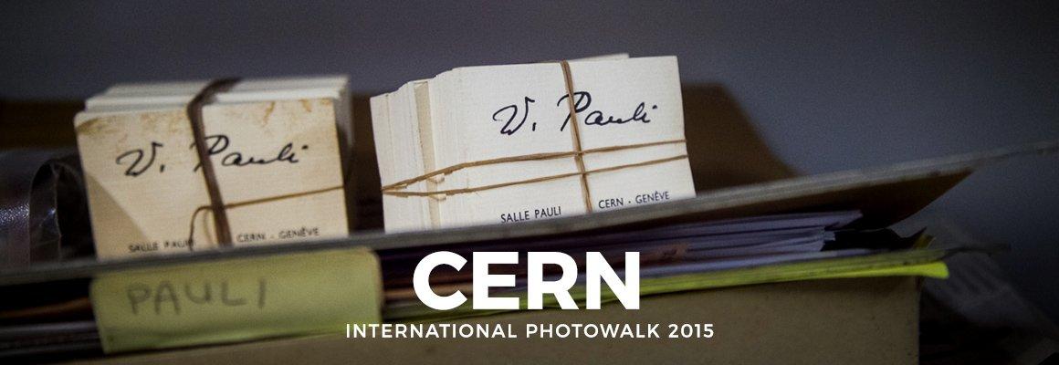 "Copertina ""CERN – INTERNATIONAL PHOTOWALK 2015"""