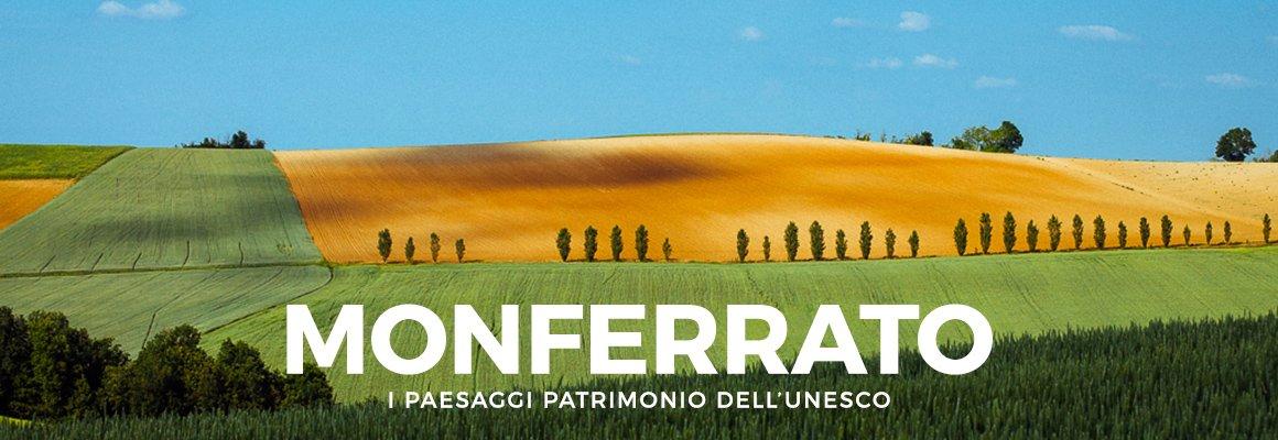 """Copertina """"MONFERRATO – I PAESAGGI PATRIMONIO DELL'UNESCO"""""""