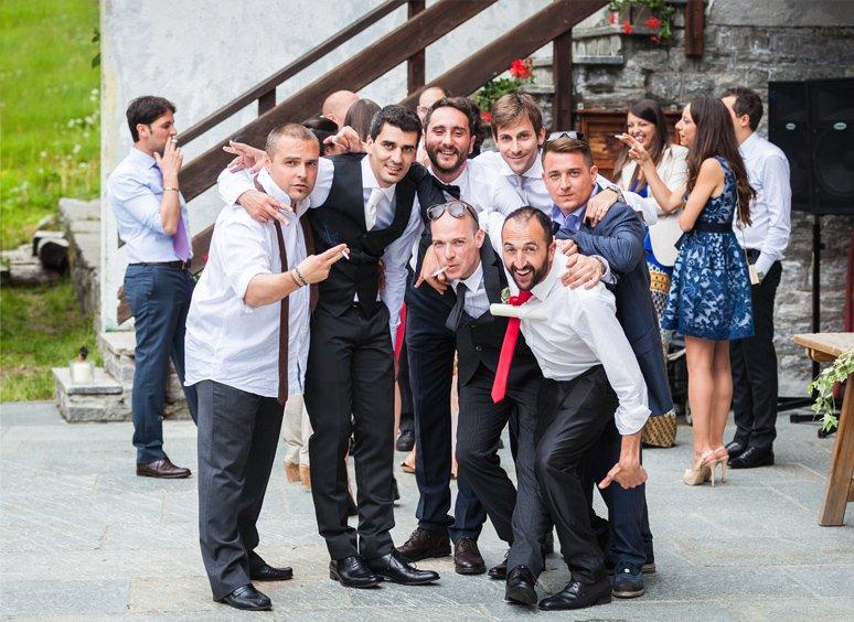 Servizio fotografico di matrimonio.