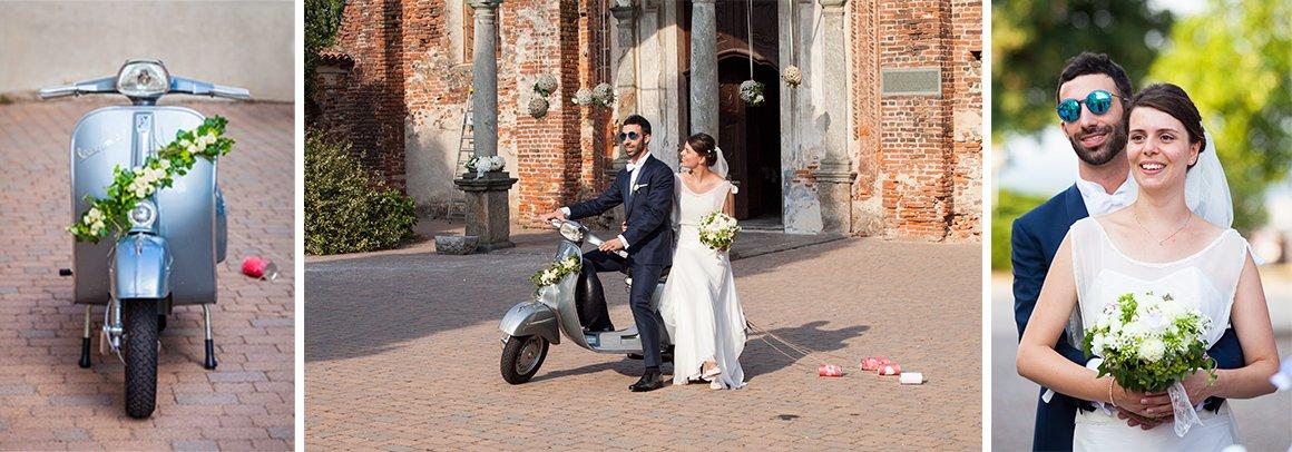 Servizio fotografico di matrimonio. Gli sposi