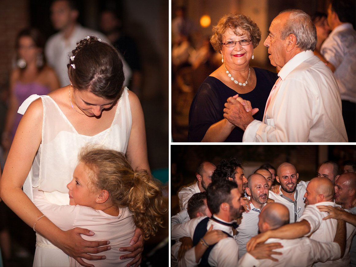 Servizio fotografico di matrimonio. Balli e festeggiamenti