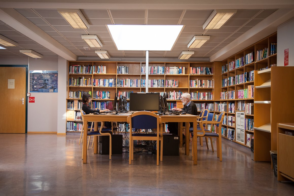 La biblioteca del CERN