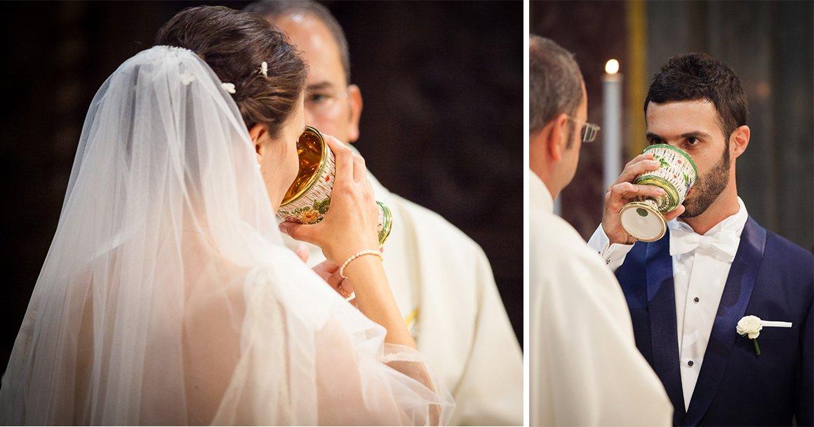 Servizio fotografico di matrimonio. La cerimonia