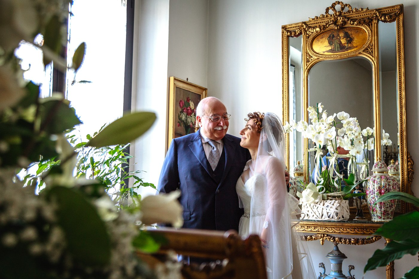 wedding Maria Alberto 2016 – Maria con Papà