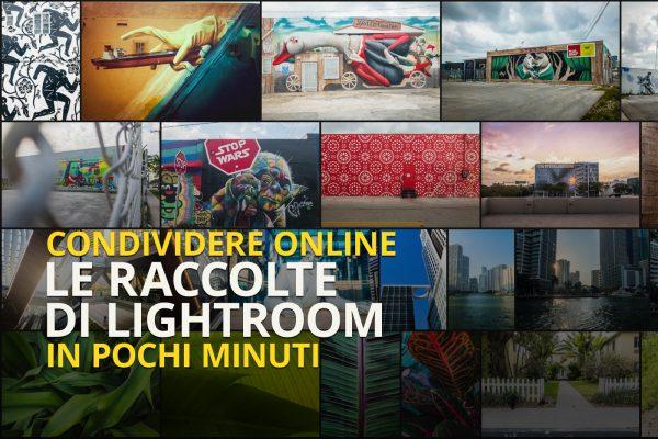 condividere online le raccolte lightroom in pochi minuti
