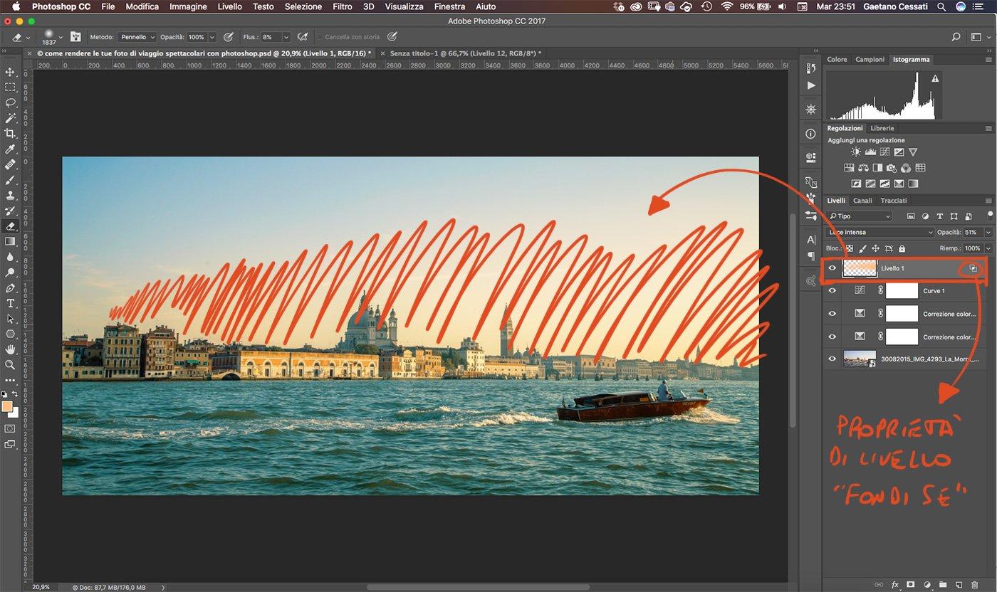 Come rendere le tue foto di viaggio spettacolari con photoshop 13