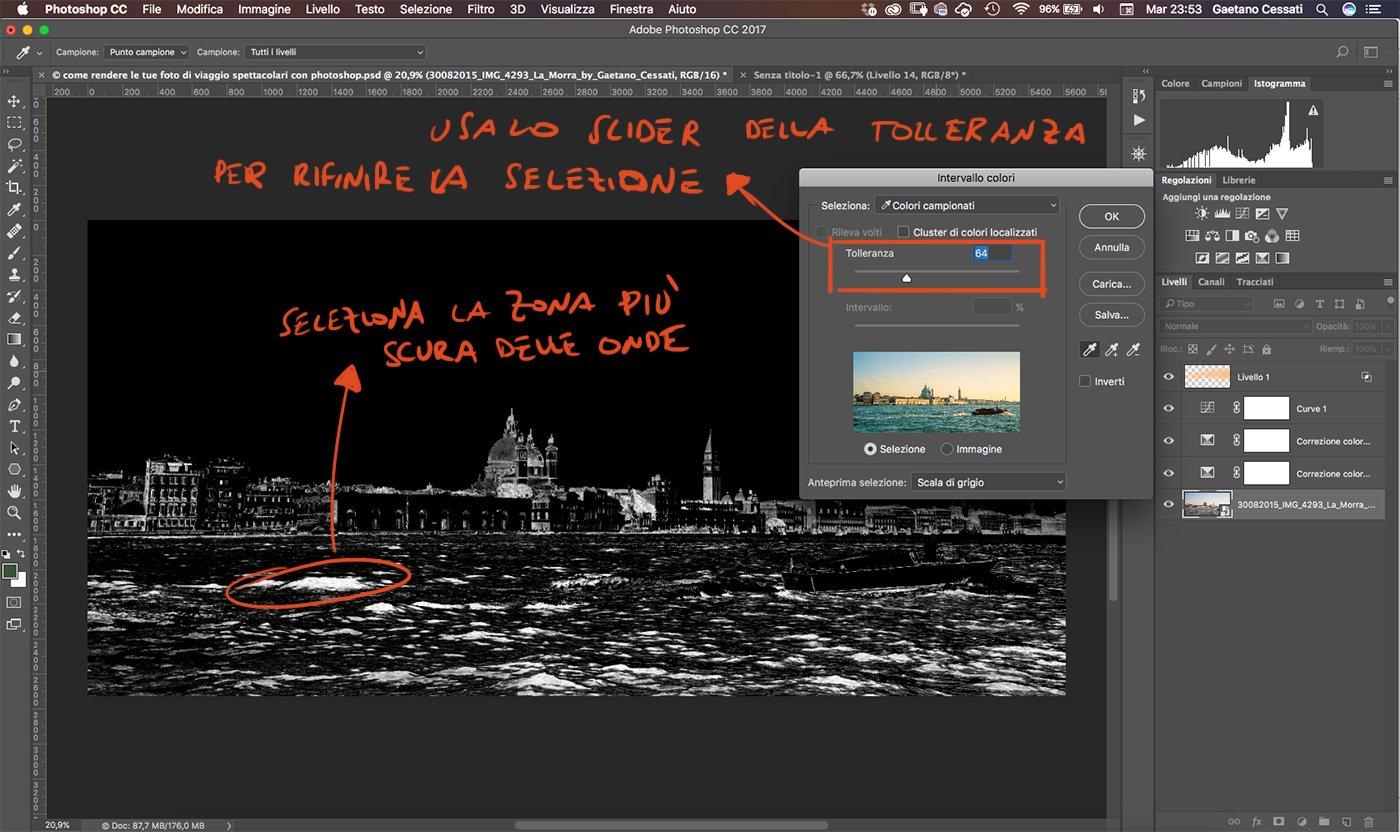 Come rendere le tue foto di viaggio spettacolari con photoshop 15