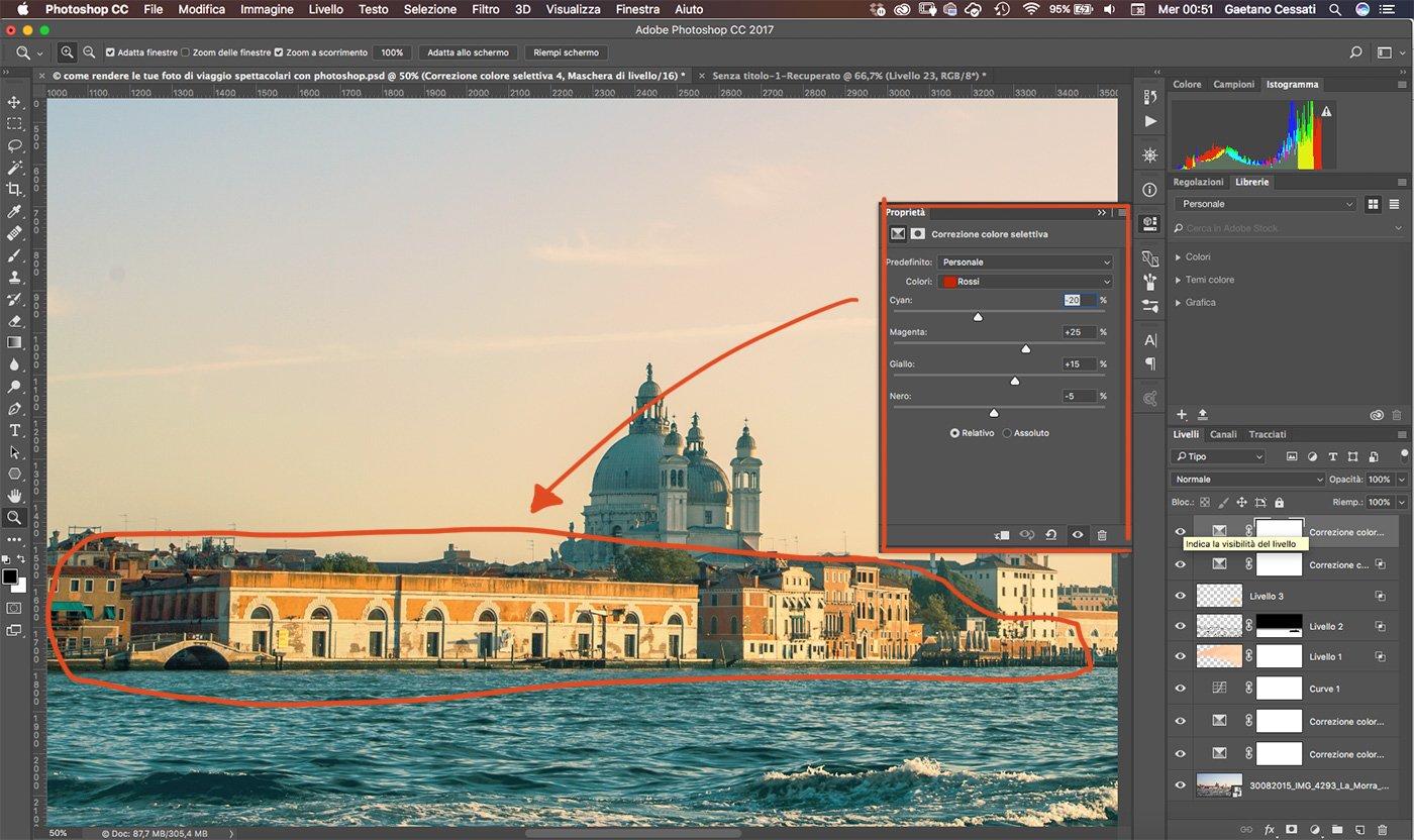 Come rendere le tue foto di viaggio spettacolari con photoshop 25