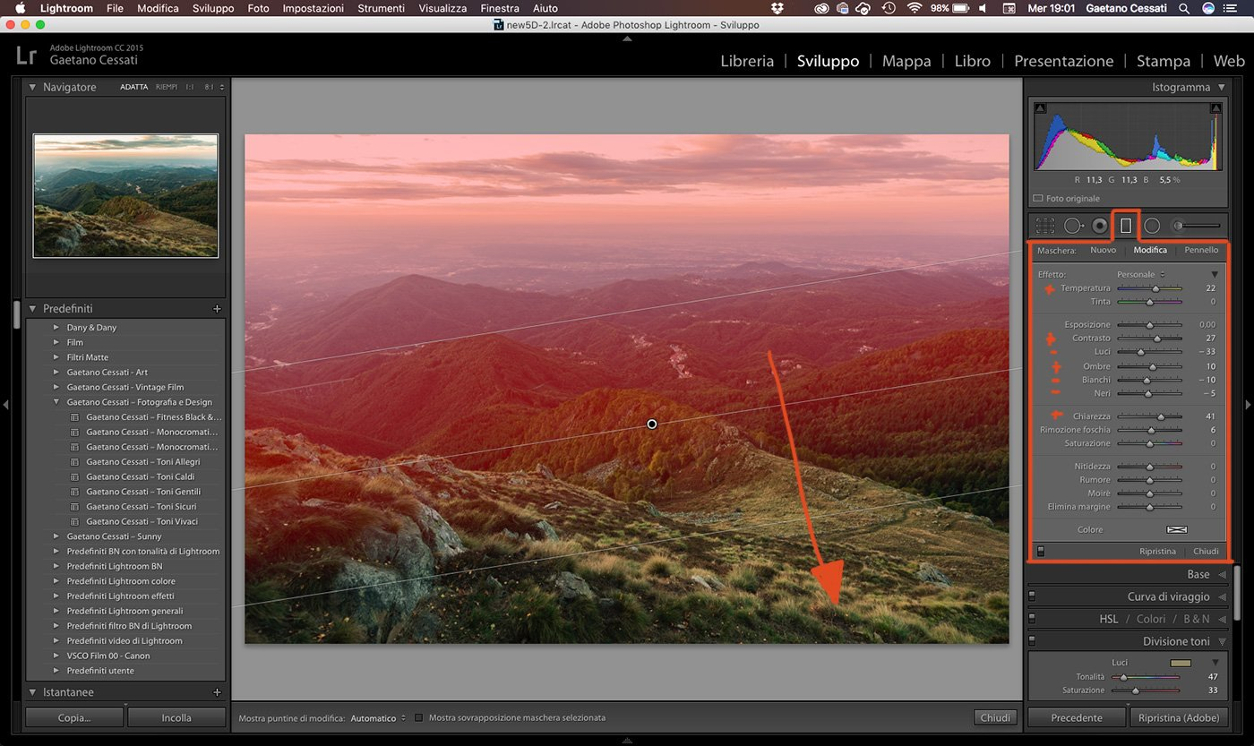 14 - come sviluppare una foto HDR con Lightroom
