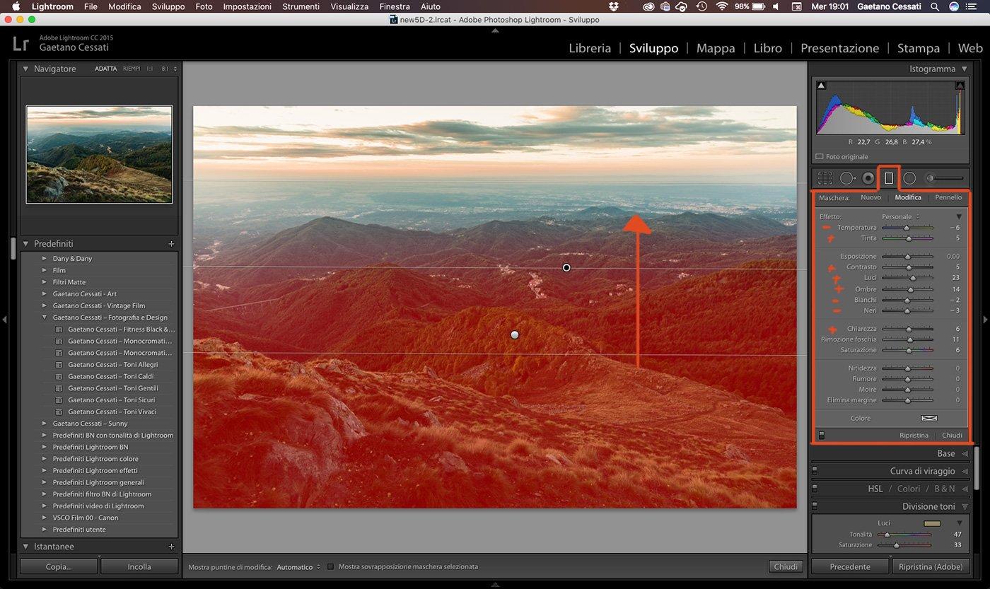 15 - come sviluppare una foto HDR con Lightroom