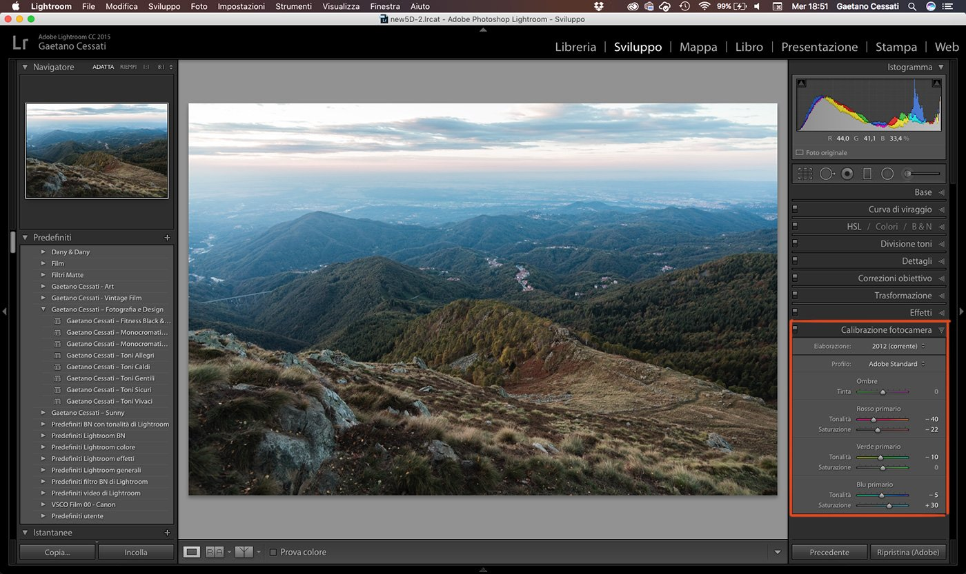 9 - come sviluppare una foto HDR con Lightroom