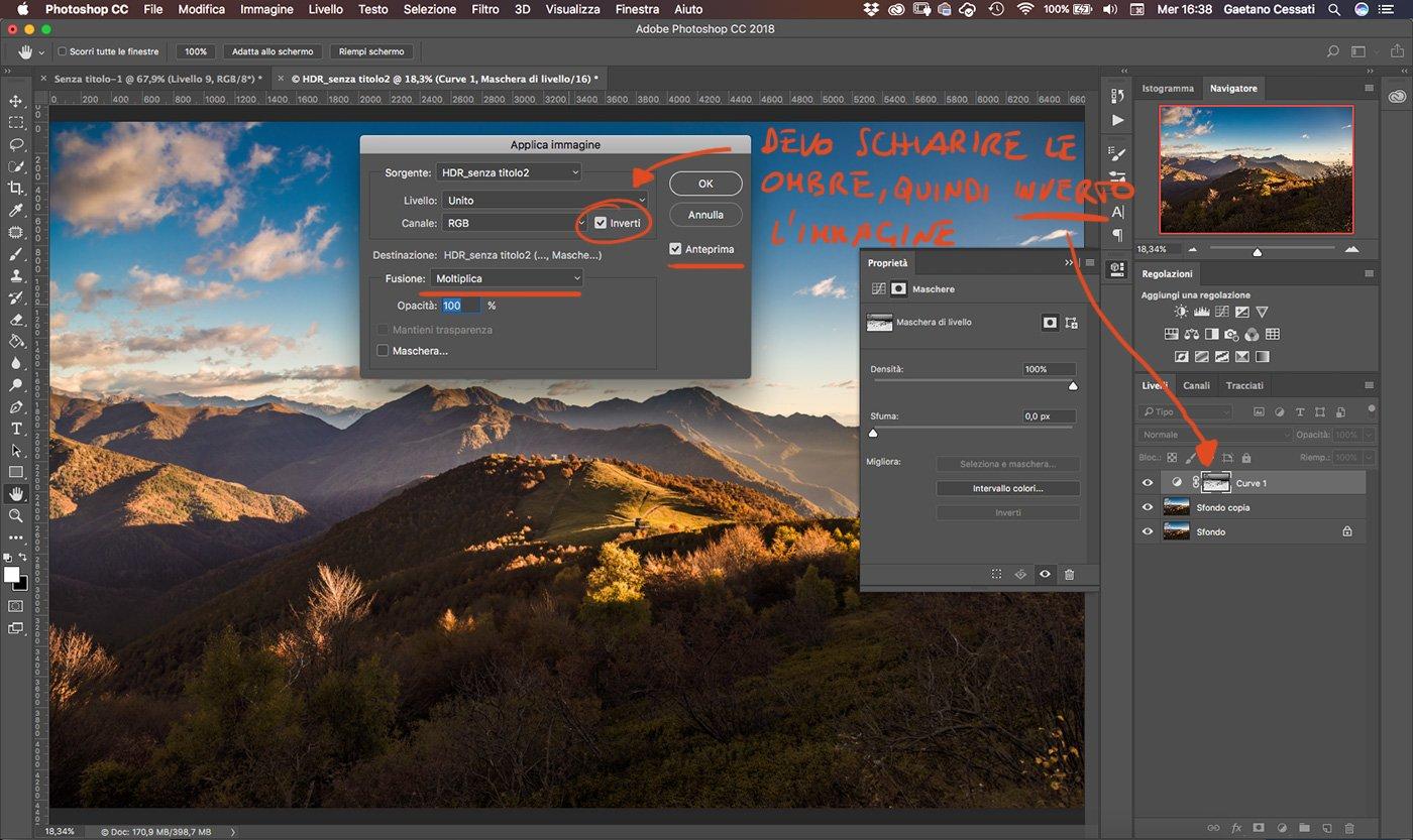 Come sviluppare una fotografia HDR con Photoshp - 10