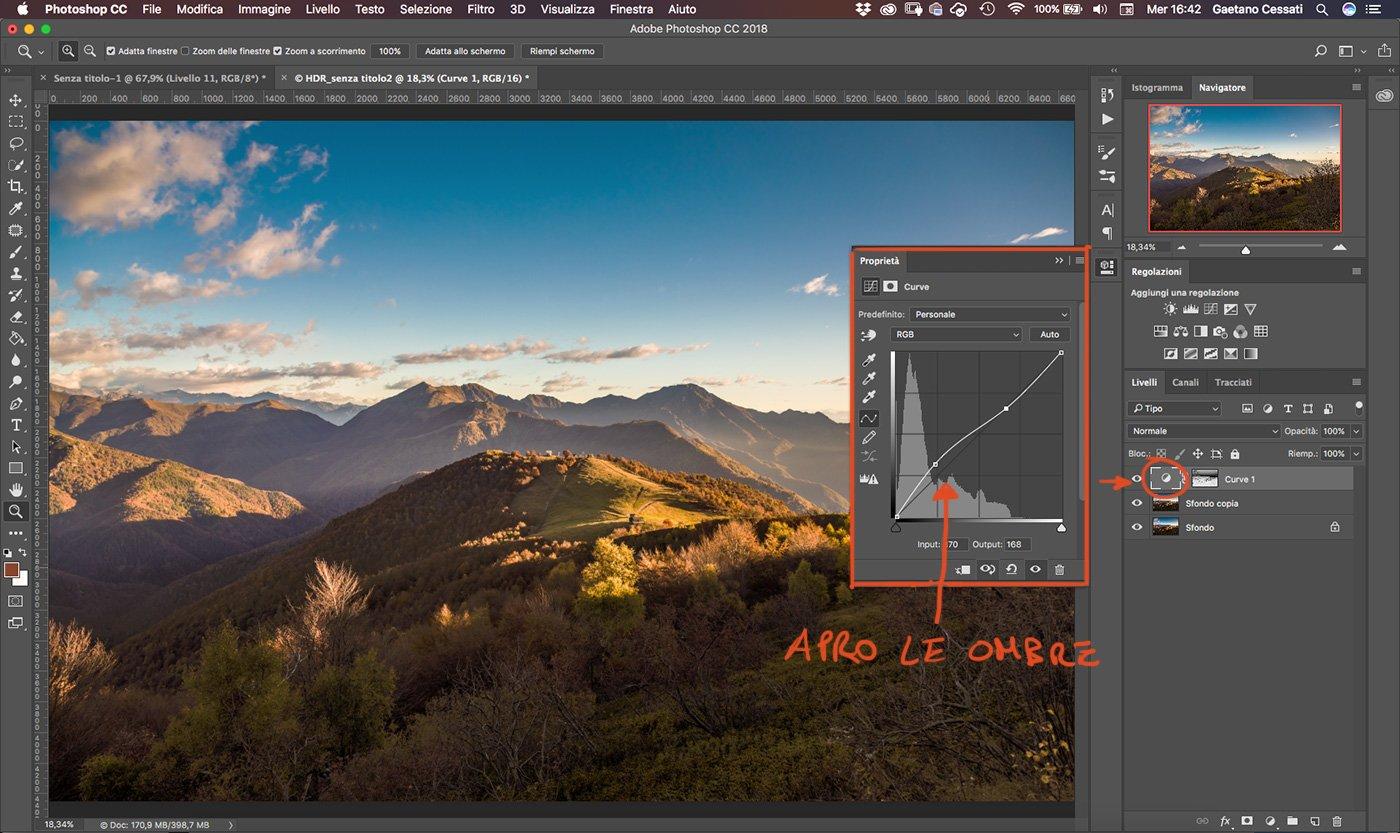 Come sviluppare una fotografia HDR con Photoshp - 11