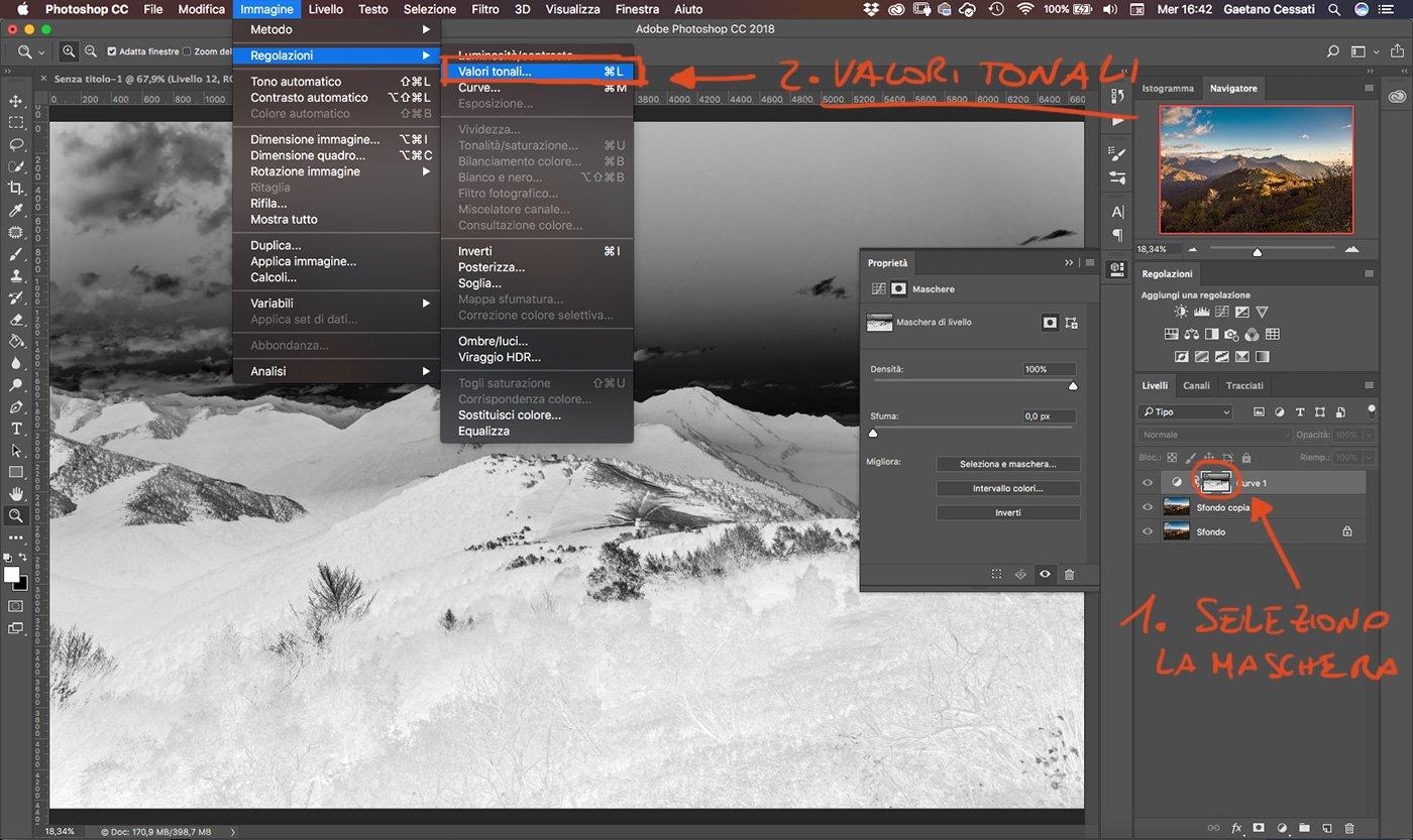 Come sviluppare una fotografia HDR con Photoshp - 12