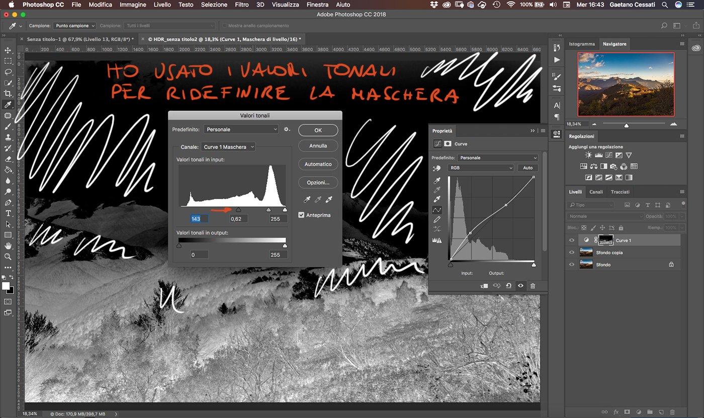 Come sviluppare una fotografia HDR con Photoshp - 13