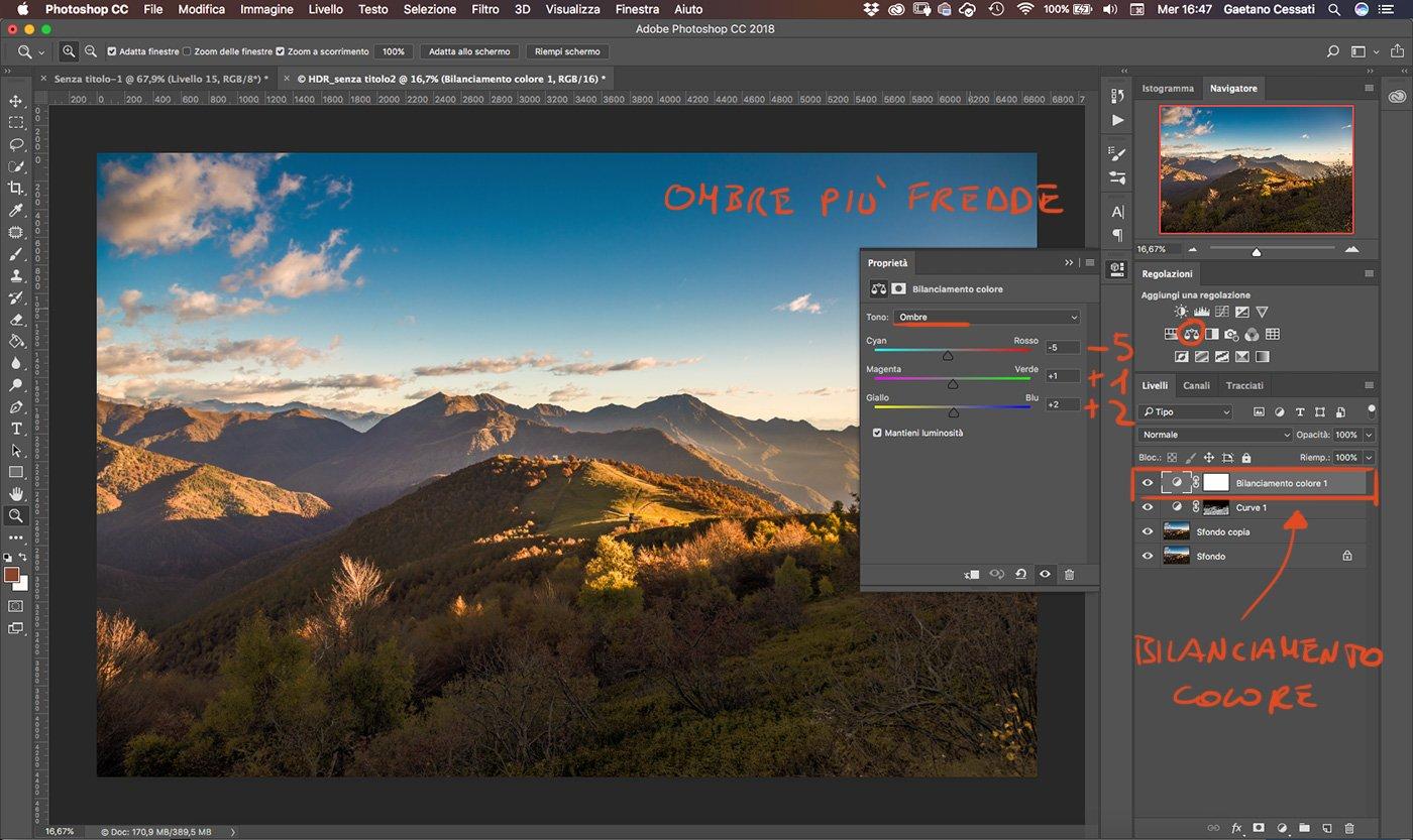 Come sviluppare una fotografia HDR con Photoshp - 14