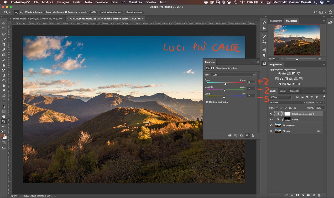 Come sviluppare una fotografia HDR con Photoshp - 15