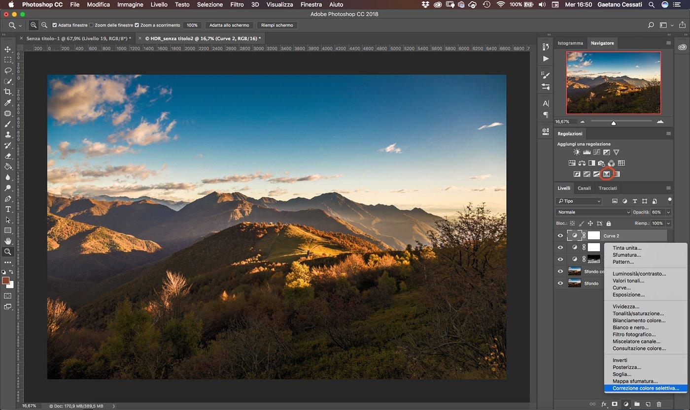 Come sviluppare una fotografia HDR con Photoshp - 17