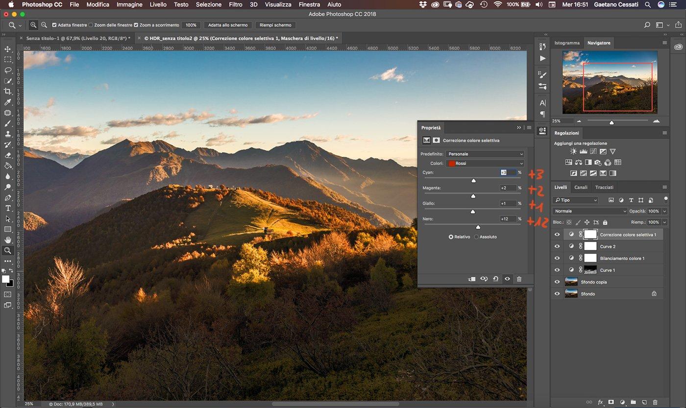 Come sviluppare una fotografia HDR con Photoshp - 18