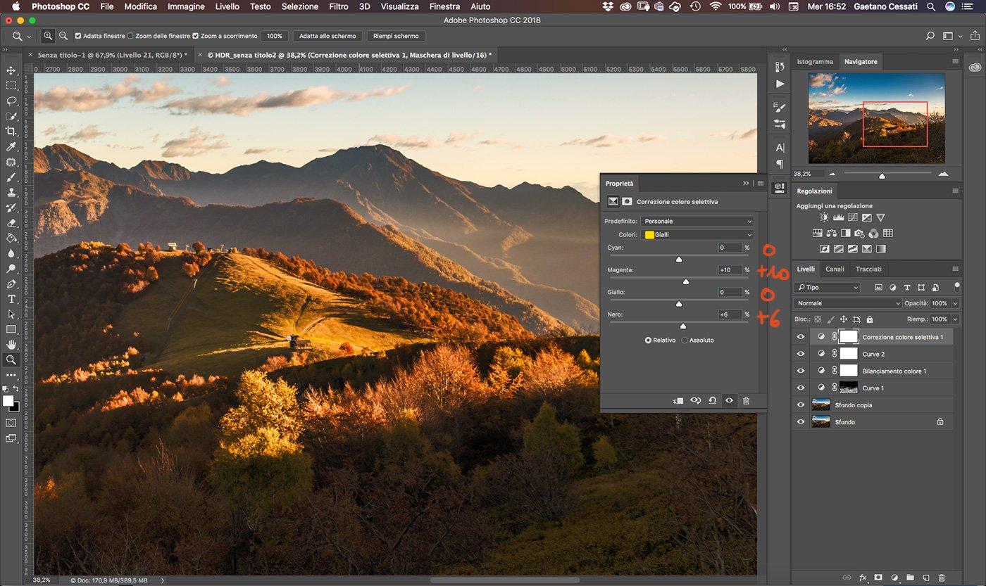 Come sviluppare una fotografia HDR con Photoshp - 19