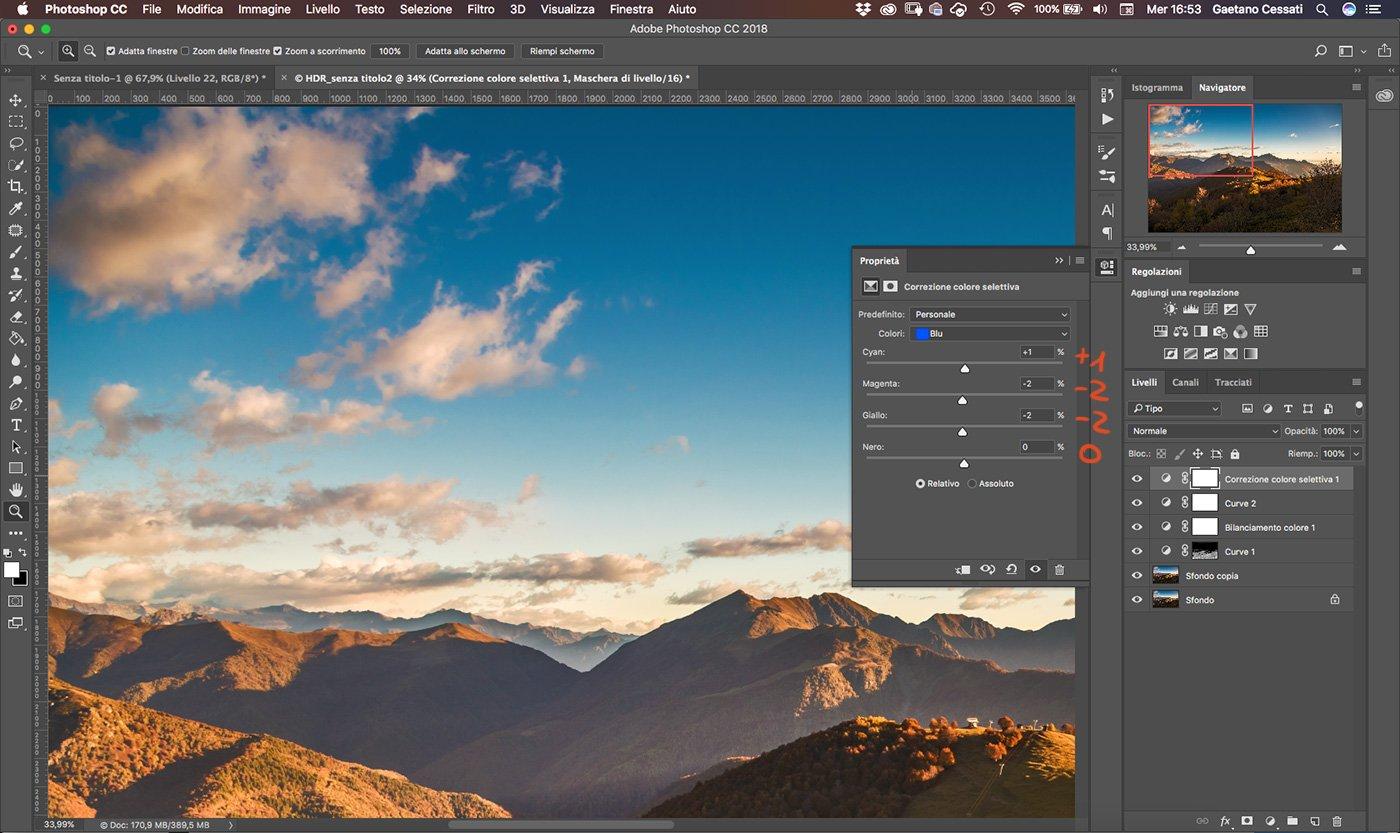 Come sviluppare una fotografia HDR con Photoshp - 20