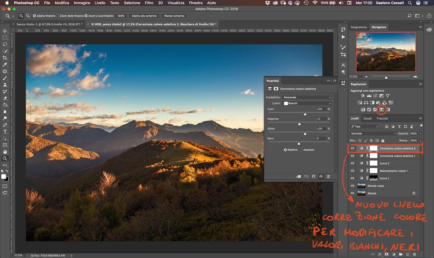 Come sviluppare una fotografia HDR con Photoshp - 21
