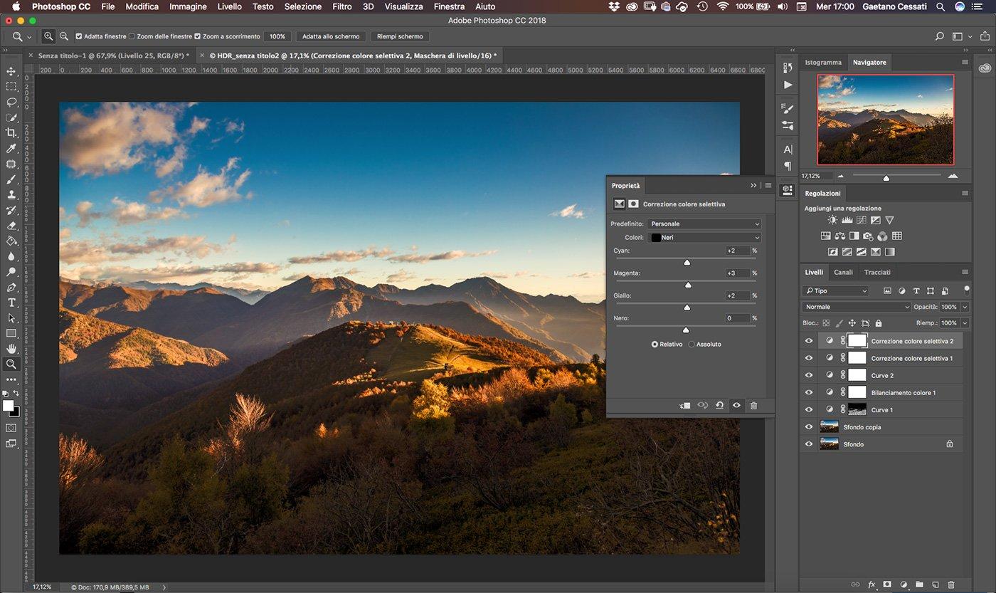 Come sviluppare una fotografia HDR con Photoshp - 22