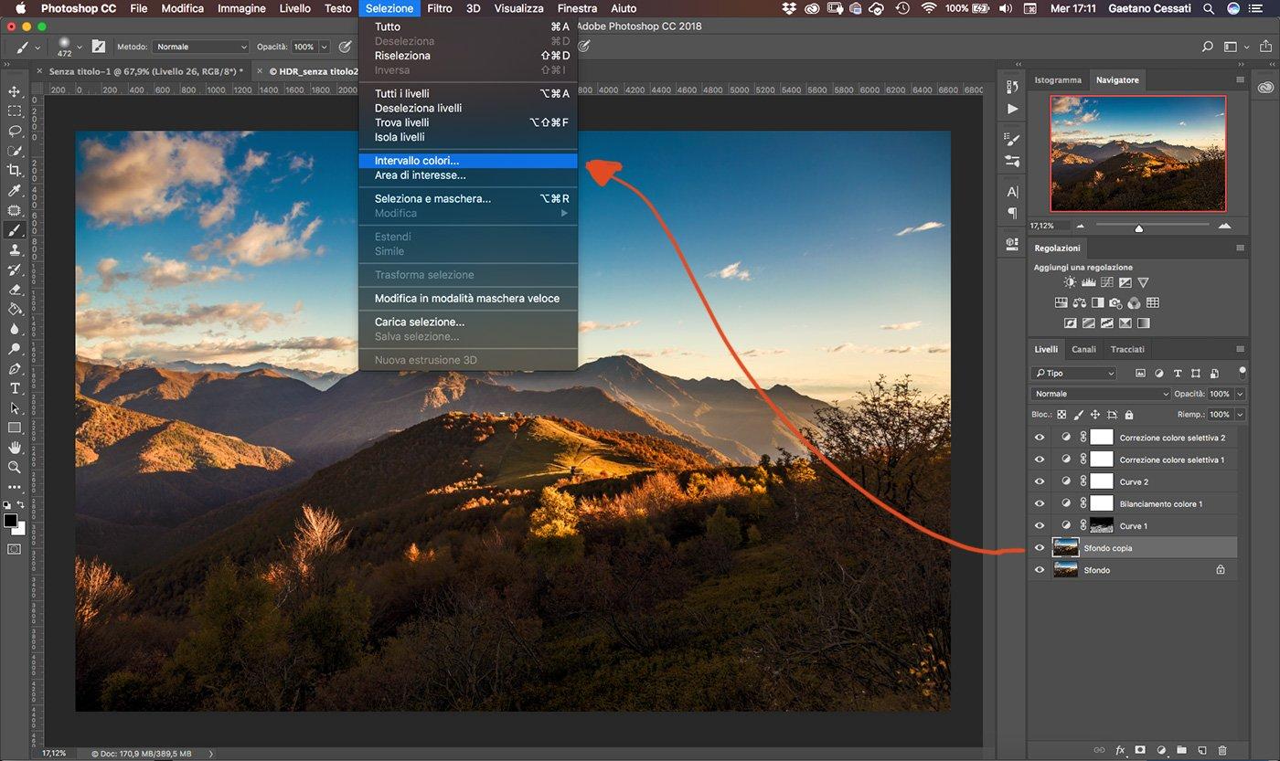 Come sviluppare una fotografia HDR con Photoshp - 23