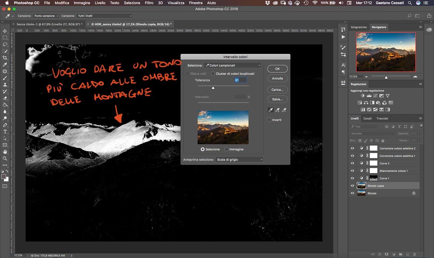 Come sviluppare una fotografia HDR con Photoshp - 24