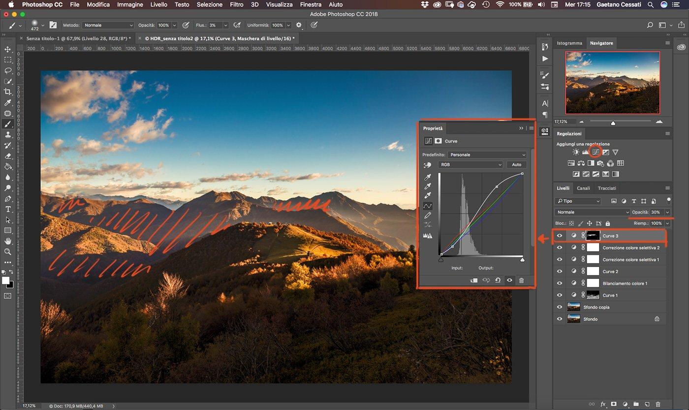 Come sviluppare una fotografia HDR con Photoshp - 25