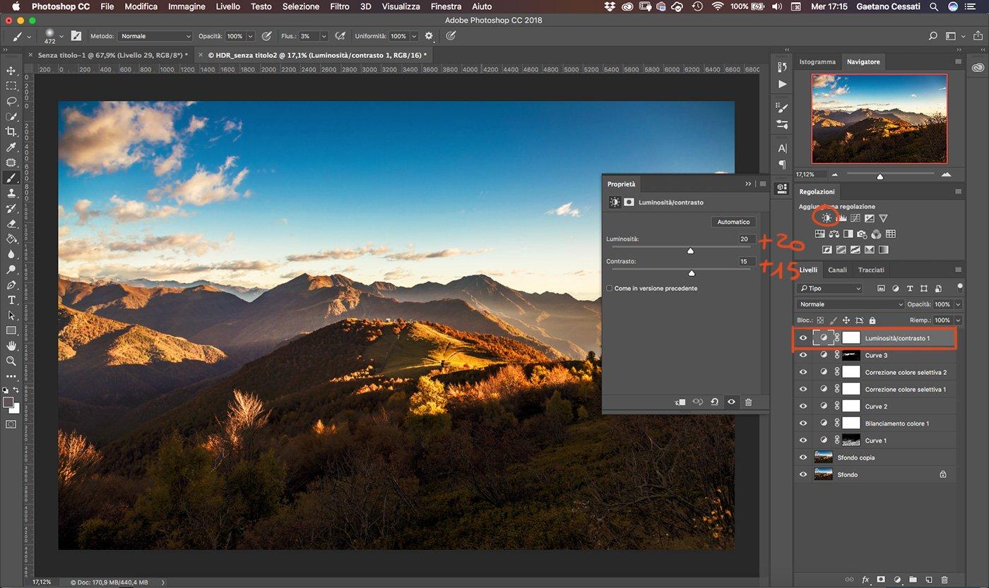 Come sviluppare una fotografia HDR con Photoshp - 26