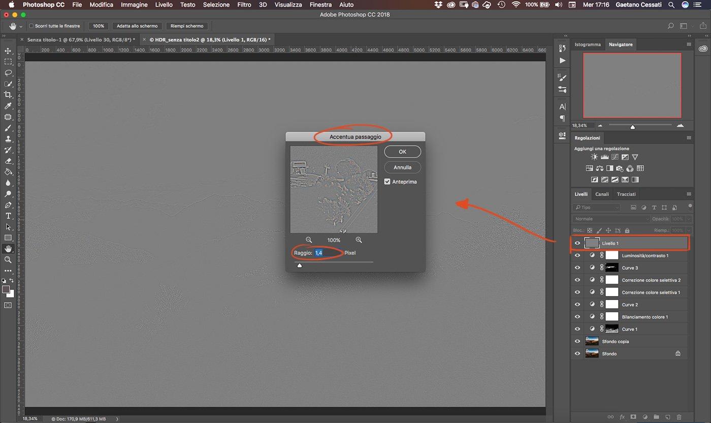 Come sviluppare una fotografia HDR con Photoshp - 27