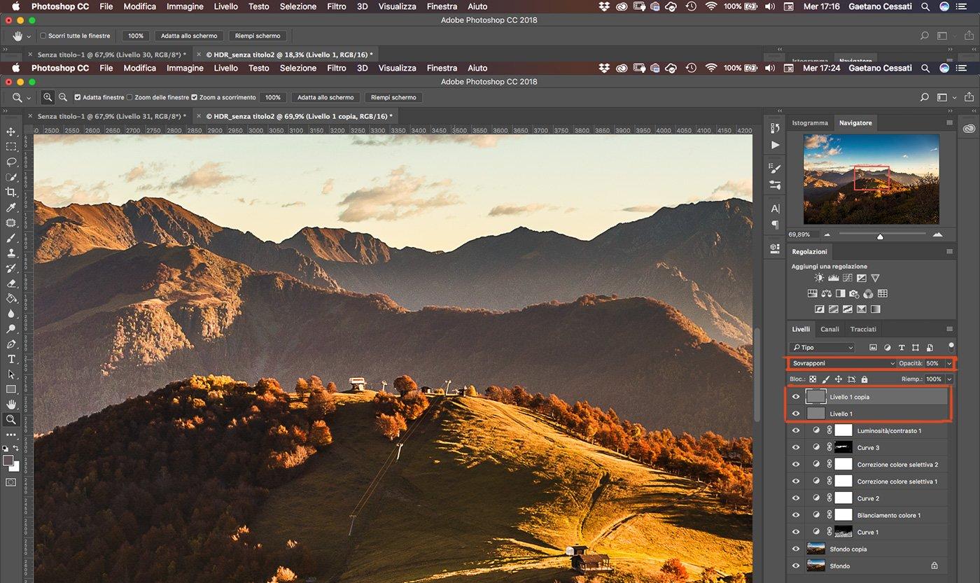 Come sviluppare una fotografia HDR con Photoshp - 28