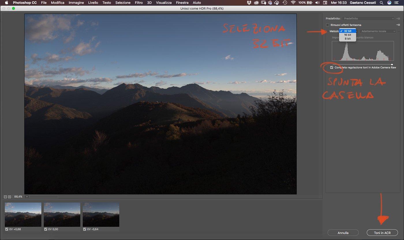 Come sviluppare una fotografia HDR con Photoshp - 7
