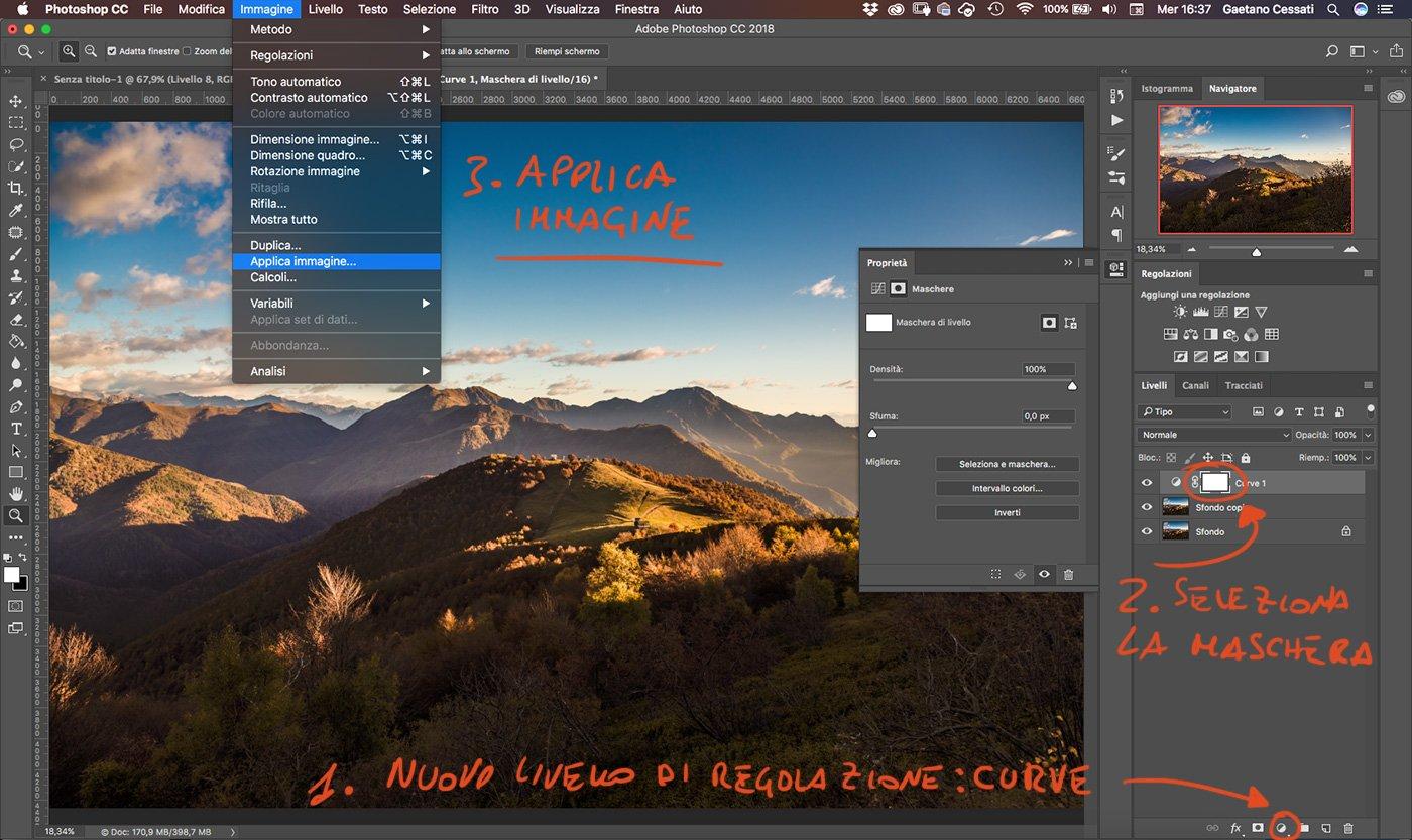 Come sviluppare una fotografia HDR con Photoshp - 9