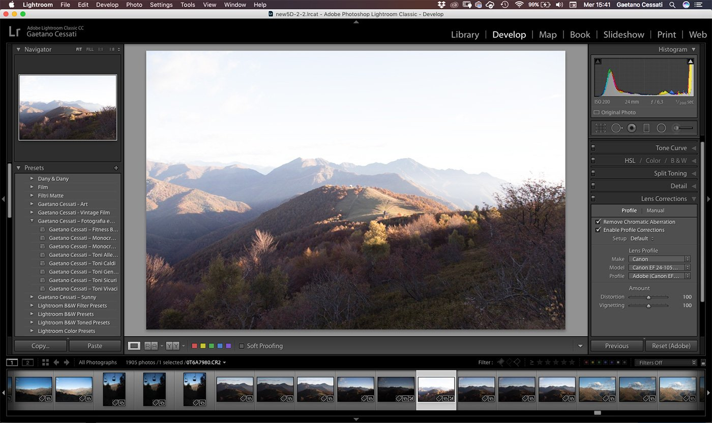 Come sviluppare una fotografia HDR con Photoshp - Lightroom 1