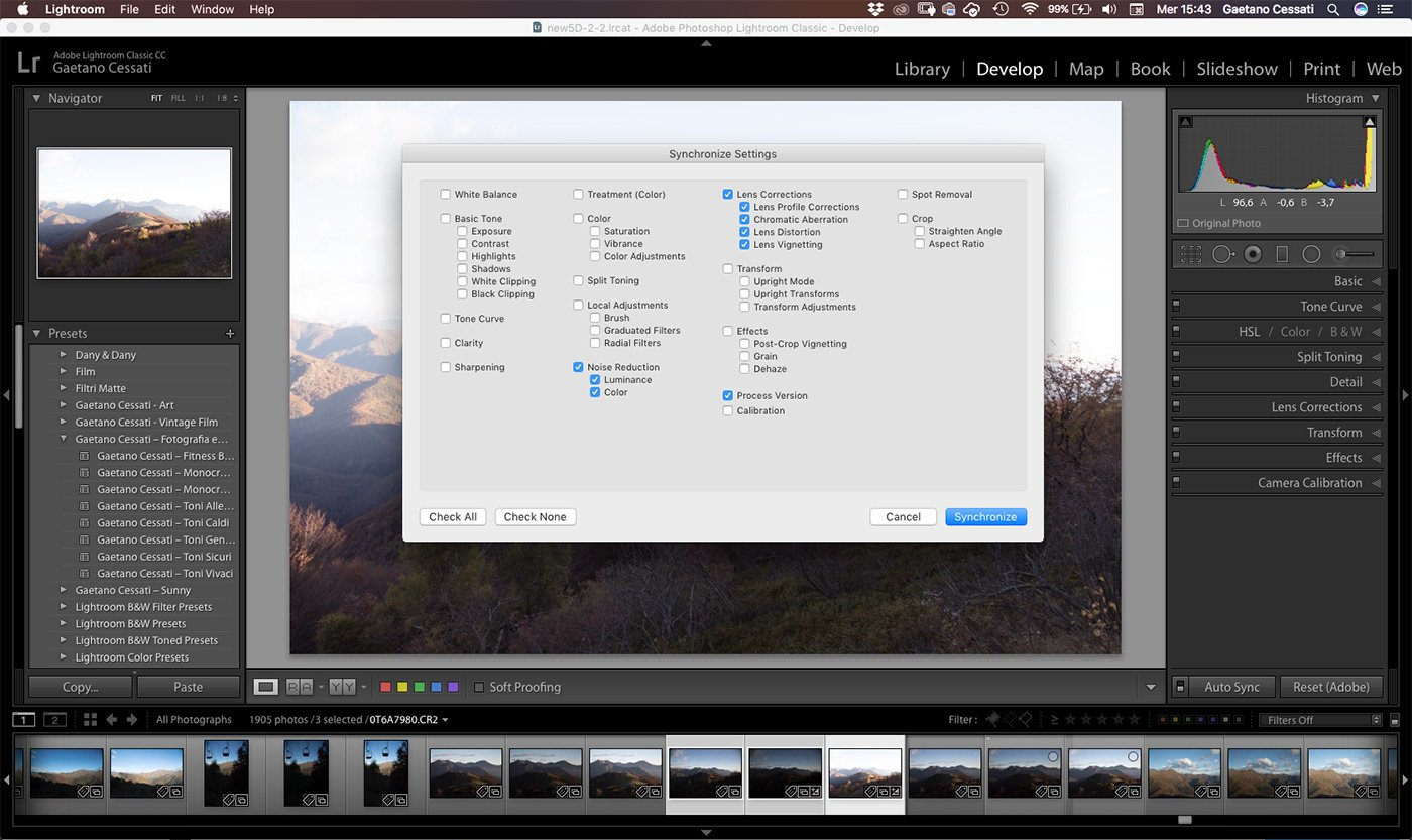 Come sviluppare una fotografia HDR con Photoshp - Lightroom 3