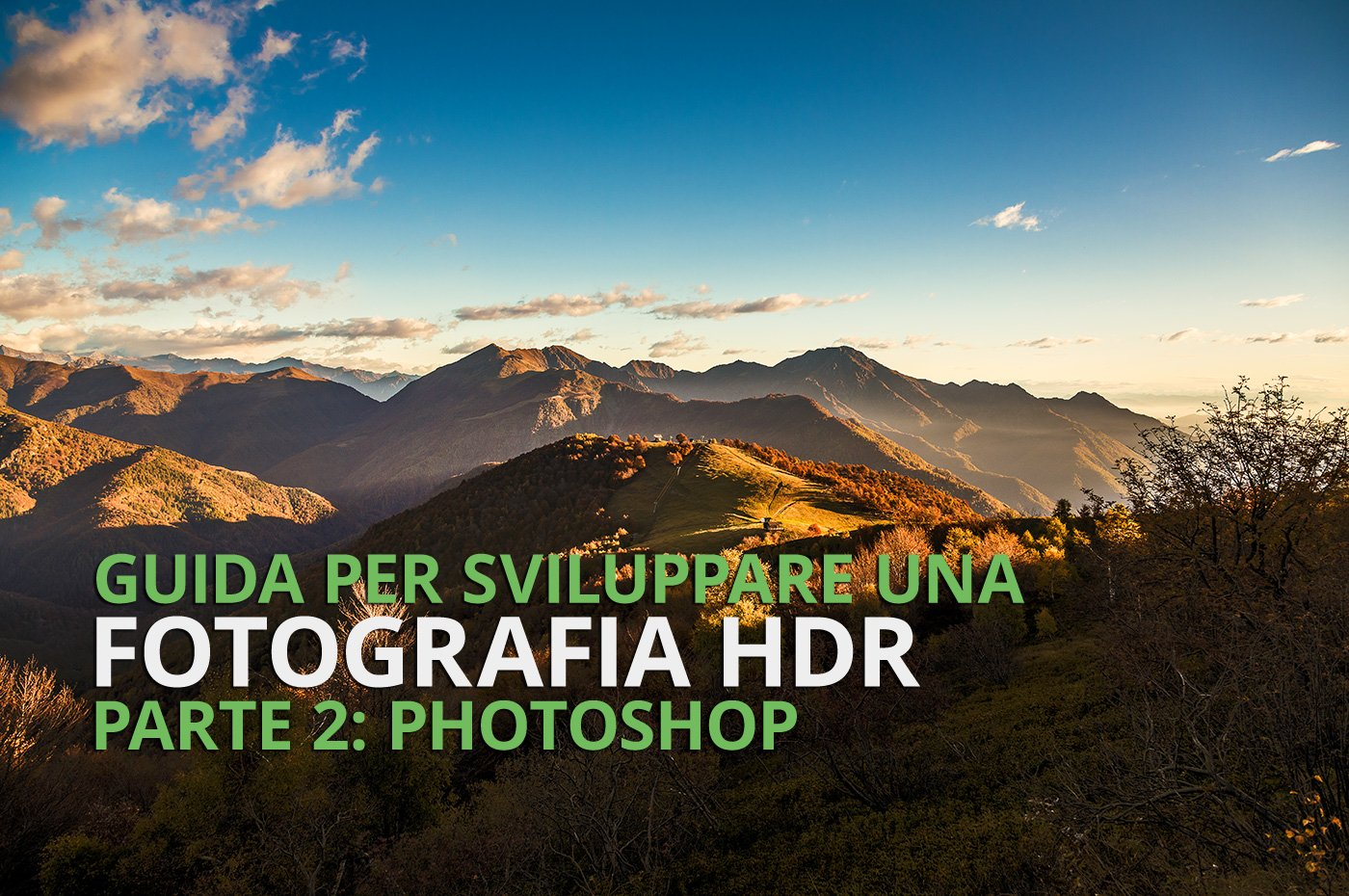 come sviluppare una foto HDR con Photoshop - cover